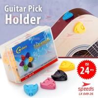Alat Musik Pick Gitar Pick Holder SPEEDS Tempat Pick Gitar/Bass 049-26