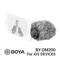 BOYA BY-DM200 Lightning Connector Stereo Microphone for Apple