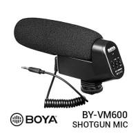 BOYA BY-VM600 Cardioid Microphone for DSLR, Camera, Camcorder original