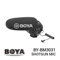 BOYA BY-BM3031 Super Cardioid Shotgun Microphone Resmi for DSLR Camera