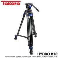Takara HYDRO B18 Tripod Professional Video Syuting V2500 - COMAN DF 1