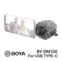 BOYA BY-DM100 USB Type-C Stereo Mic Microphone ORIGINAL