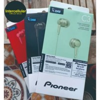 Pioneer SE-C3T earphone garansi resmi IMS - TERMURAH