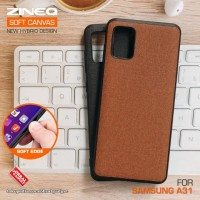 Soft Canvas Case Samsung A31 Softcase Hard Silikon Casing Cover Jelly