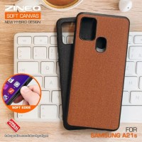Soft Canvas Case Samsung A21s Softcase Hard Silikon Casing Cover Jelly