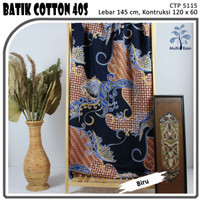 MUKA IG bahan kain cotton katun batik kemeja murah per 50 yard cat 26
