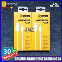 Kabel Data Realme ORIGINAL 100% Fast Charging / Flash Charge Micro USB