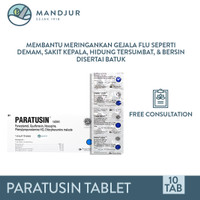 Paratusin Tablet - Meringankan Gejala Flu, Demam, Pilek, dan Batuk