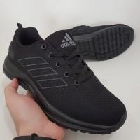 Sepatu Running Pria Adidas Pure Boost Full Black Made In Vietnam