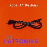 Kabel Buntung AC 220 1.5M Kabel Power Supply Steker Listrik High Grade