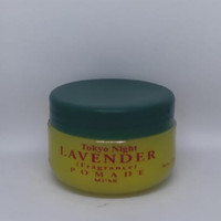 Tokyo Night Lavender Fragrance Pomade 35g Original Klasik Murah BPOM