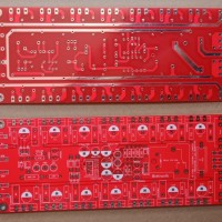 PCB TR FINAL 7 TOSHIBA 4 SANKEN Protektor + Led 2U Dauble Layer
