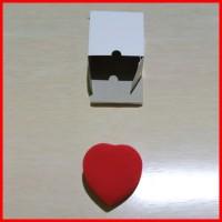 KOTAK BOX BENTUK LOVE WADAH TEMPAT CINCIN LAMARAN TUNANGAN KAWIN NIKAH