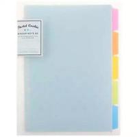 KOKUYO Binder Ring B5 FREE Loose Leaf Paper + Page Divider