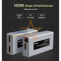 HDMI Splitter Extender via UTP LAN Cable (up to 50 m) Support Extend