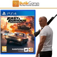 Fast & Furious Fast and Furious Crossroads PS4 Game PS4