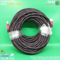 KABEL HDMI CABLE TV PC LEPTOP NOTEBOOK 30 METER K2642
