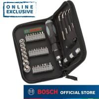 Bosch Screwdriver and Socket Set / Mata Obeng dan Soket Set 38 Pcs