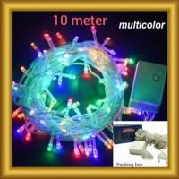 Lampu Tumbler 10 Meter LT10 Lampu Hias Natal Tumbler 10M Twinkle