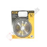 KDK VT01004 Mata Pisau Potong Kayu 4 x 40T - Circular Saw Blade Sirkel