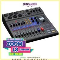 ZOOM L-8 Livetrak 8 Channel Digital Mixer L8 Audio Interface Mixer