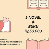 Paket 3 Buku Novel Gramedia Tere Liye Dilan