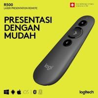 LOGITECH R500 Laser Pointer Presentation Remote Original Garansi 1 Thn