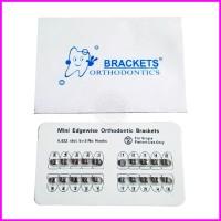 BRACKET AMPLOP FANCY BEHEL GIGI FANCY MINI EDGEWISE 0.022 SLOT NH