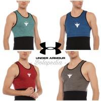 Singlet fitnes / Kaos training bull gym running baju olahraga pria