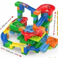 Marble Run Balap Kelerang Track Maze 180pcs