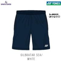 Celana Pendek Yonex Badminton Tru Breeze 1634 Gilbratar Sea / White
