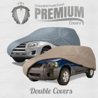 Ready Stock Premium Cover Mobil (Double Covers/ 2 Lapis) - Small Cars