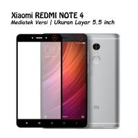 Tempered Glass 9D For Xiaomi Redmi Note 4 Full Cover Premium
