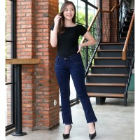 Celana Jeans Cutbray Wanita / Cutbray Rawis 70971 / PREMIUM