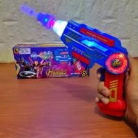 Mainan Anak 2in1 Tembakan dan Pedang Avengers Light and Sound