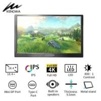 KENOWA 18,4 INCH PORTABLE GAMING MONITOR 4K TYPE C HDMI MULTI FUNCTION