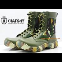 sepatu PDL Loreng Brimob ciarmy C-077LH hijau