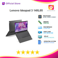 Lenovo Ideapad 3 14IIL05 i5 1035G1 8GB 512ssd MX330 2GB OHS IPS PDID