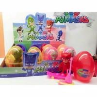 PJ Maskers Egg Besar set isi 6 butir / Suprise Egg figure pj masksaja