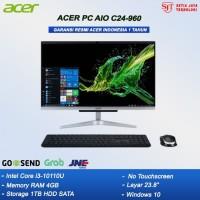 ACER PC ALL IN ONE C24-960 - i3 10110U 4GB 1TB 23,8 FHD WIN10 RESMI