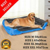 Pet Bed Tempat Tidur Kasur Anjing Kucing Hewan Besar dan Kecil M,L,XL - M