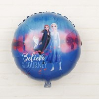 Balon Foil Frozen II / 2 Elsa Anna Believe In The Journey Size 45 cm