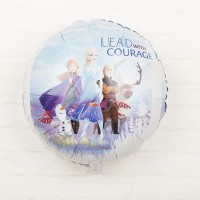 Balon Foil Frozen II / 2 Elsa Anna Lead With Courage Size 45cm