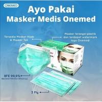 Onemed Masker Medis 3 ply Earloop