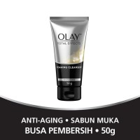 Olay Total Effects 7 in One Foaming Cleanser 50 gram / Sabun Muka 50g