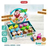 IQ Angel Cow Toys / Mainan Motorik Anak / Mainan Bayi Karakter Sapi