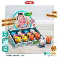 IQ Angel Cat Toys / Mainan Motorik Anak / Mainan Bayi Karakter Kucing