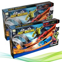 Hot Racing Avenger 2 Jalur 803 - Mainan Anak Mobil Super Hero