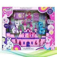 My Dream Castle Little Pony Mainan Edukasi Anak Rumah Istana Peri
