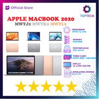 Apple Macbook Air 2020 i3 1000 8GB 256ssd OS X 13.3 MWTJ2 MWTK2 MWTL2